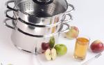 Яблочный сок на зиму через соковарку польза и вред